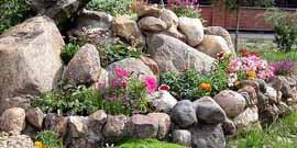 Альпийская горка или как сделать ваш сад незабываемо красивым?