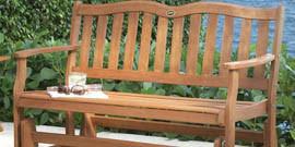 Садовые скамейки как лучший вариант для отдыха на природе