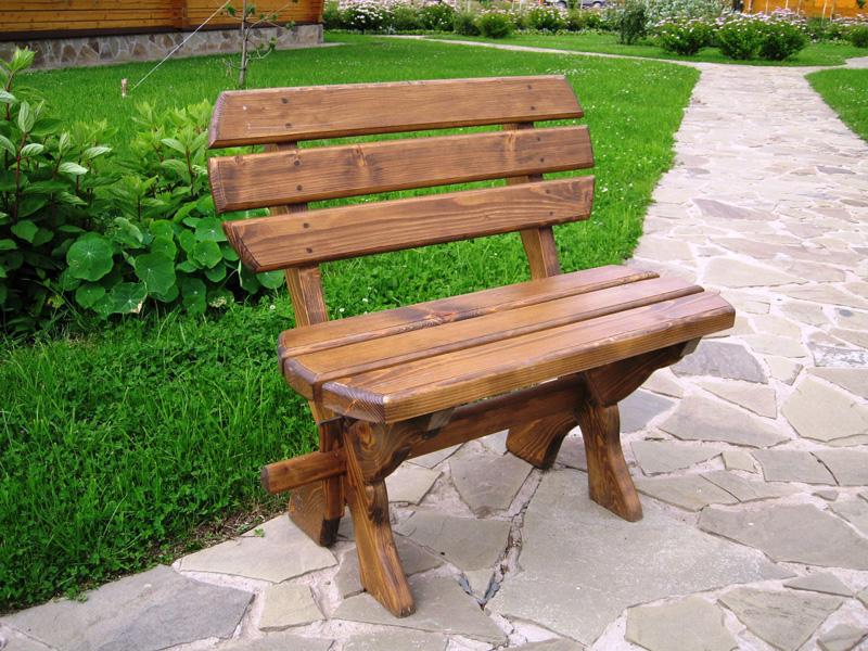 Как делать скамейки из дерева