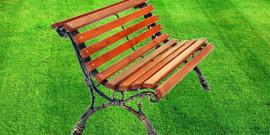 Садовые скамейки из металла
