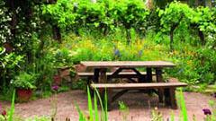 Садово-парковая мебель – особенности изделий из разных материалов