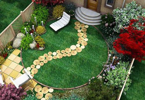 Как правильно украсить свой сад цветами