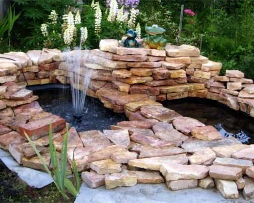 Использование бутового камня в ландшафтном дизайне