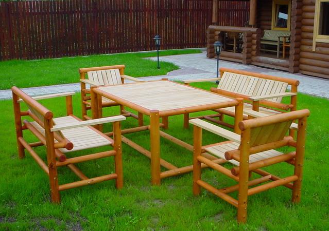 Столы и стулья для дачи своими руками