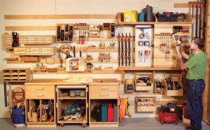 Как осуществляется хранение инструмента в мастерской?
