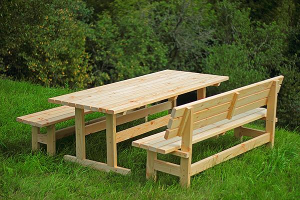 Деревянный стол своими руками для беседки - как изготовить? + Видео