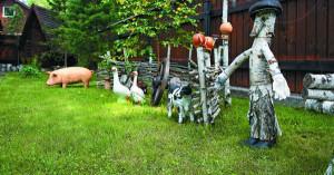 Деревенский стиль в ландшафтном дизайне – был, есть и будет! фото