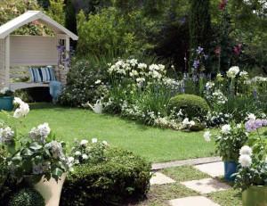 Ландшафтный дизайн деревенского участка – сад и огород фото