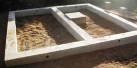 Как сделать фундамент под сарай своими руками – надежно и долговечно!