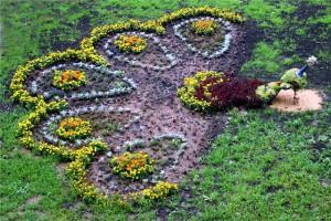 Фото цветника, stroymart.com.ua