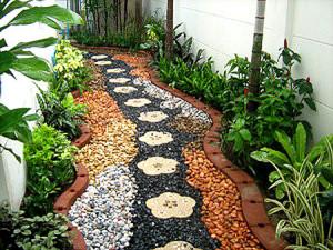 Какими могут быть дорожки в саду? фото