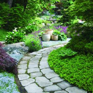 Дизайн садовых дорожек: какой материал выбрать?