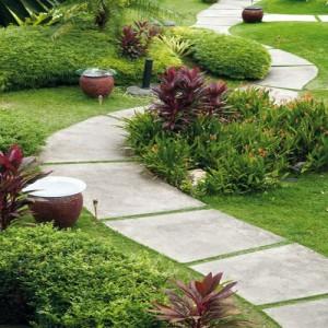 Дизайн садовых дорожек: какой материал выбрать? фото