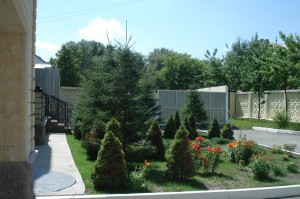 Фото ландшафтного дизайна с хвойными деревьями, inland74.ru
