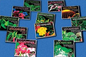На фото - удобрения для луковичных цветов, e-reading.ws