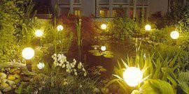 Светодиодные уличные фонари для дачи