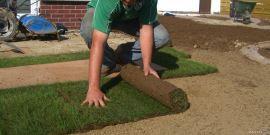 Укладка рулонного газона – быстрое озеленение участка!