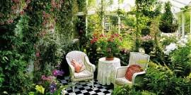 Зимний сад в доме или как сделать домашнюю оранжерею?