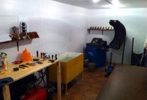 Как оборудовать мастерскую для своего работника? фото