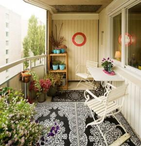Фото про оформление балкона цветами, ru.paperblog.com