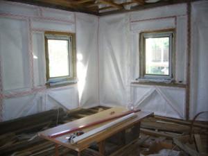 Утепление дачного дома изнутри: особенности работ фото