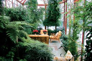 Фото обустройства зимнего сада, muratordom.com.ua
