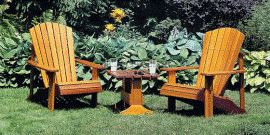 Мебель для дома и сада, или как создать уют в саду и огороде?