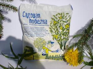 Фото готовой смеси для побелки, landscape-project.ru