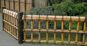 Заборчики для палисадника из дерева