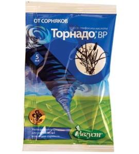 На фото - гербицид Торнадо, tdnest-m.ru