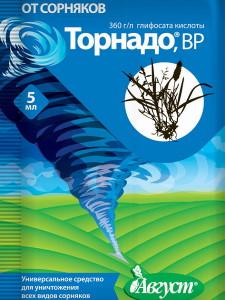 На фото - гербицид Торнадо, bi-cleaning.ru