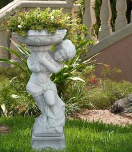Фото скульптуры для сада, 101dizain.ru