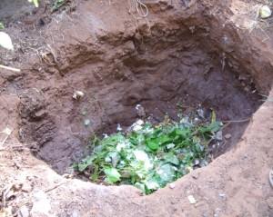 Фото ямы для компоста на садовом участке, art-pen.ru