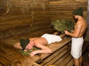 На фото - хорошо протопленная баня, banya-sauna.ck.ua