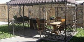 Кованные беседки – лучшее из металлических садовых сооружений!