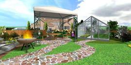 Ландшафтный дизайн приусадебного участка – оригинальный и самобытный