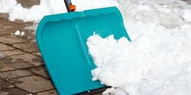 Лопата для уборки снега или как согреться зимой?