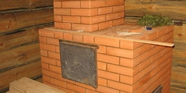Печь для бани своими руками: строим по старинке из кирпича и глины