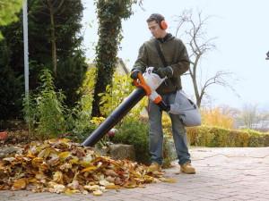 Фото садового пылесоса для уборки листьев, stroiprime.ru