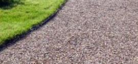 Устройство садовых дорожек из гравия