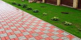 Тротуарная плитка для сада