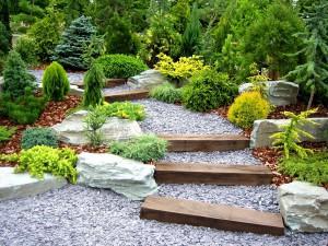 Фото про садовые дорожки из гравия, 7dach.ru