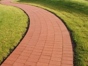 Керамическая, тротуарная плитка для садовых дорожек