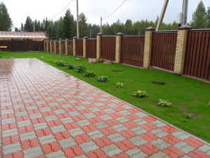 Керамическая, тротуарная плитка для садовых дорожек фото