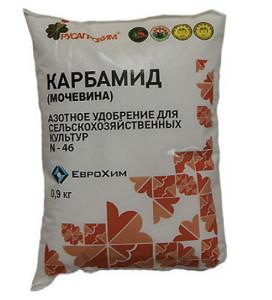 Фото мочевины для весенней подкормки сада, ruscemena.ru