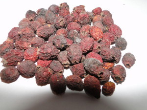 На фото - сушка плодов боярышника, e-fruit.ru