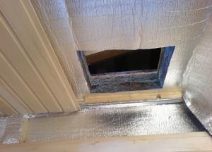 На фото - утепление потолка бани, bibihomes.com