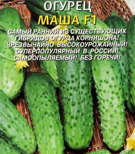На фото - партенокарпические семена огурцов, floweryvale.ru
