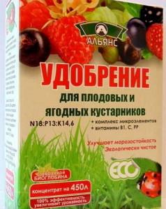 Фото удобрения для ягодных кустарников, ogorod.ua