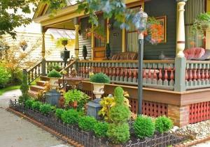Фото красивого палисадника перед домом своими руками, 101dizain.ru